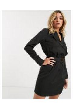 4th Reckless - Vestito blazer con cintura nero(120329024)