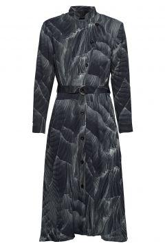 Robe Dress Kleid Knielang Grau DIANA ORVING(114164123)