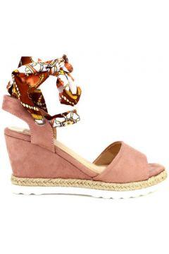 Espadrilles Cendriyon Compensées Rose Chaussures Femme(115425660)
