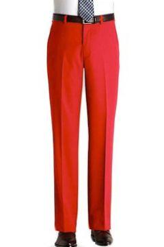 Pantalons de costume Kebello Pantalon en polyester H Rouge(115408764)