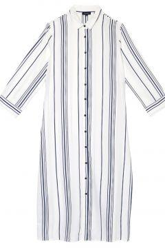 Fabrika Beyaz - Mavi Elbise(113994055)
