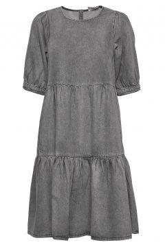 Sammigz Dress Ms20 Kleid Knielang Grau GESTUZ(109152147)