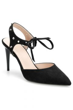 Miss F Siyah Kadın Klasik Topuklu Ayakkabı(124526465)
