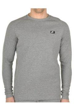 Sweat-shirt Nike M Nsw Modern Crw Lt Wt Manica Lunga Grigia(115476825)