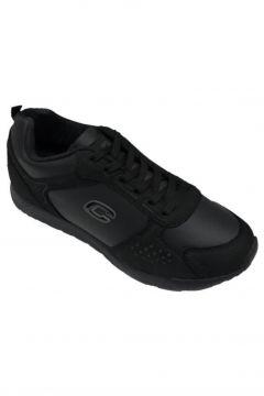 Conpax Kadın Siyah Bağcıklı Spor Ayakkabı 2097(118647919)