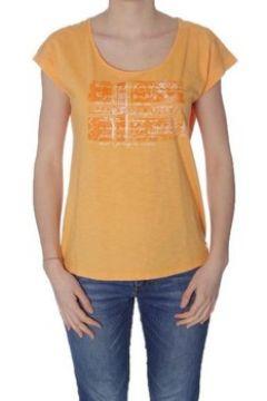 T-shirt Napapijri SANDINO ARANCIONE(115439176)