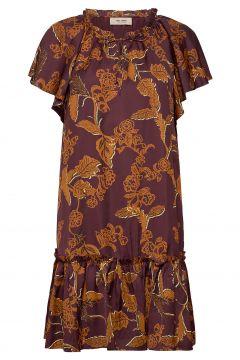 Tikka Africa Dress Ss Kleid Knielang Bunt/gemustert MOS MOSH(116470502)