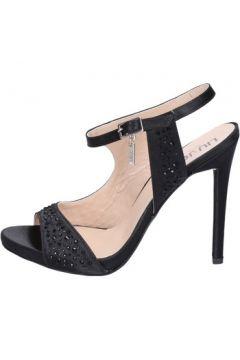 Sandales Liu Jo sandales noir satin strass BT269(115442767)
