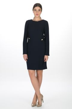 Cotton Bar Lacivert Elbise(113943923)