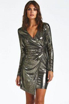 Kleid Metallic-Optik(122326536)