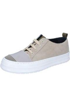 Baskets Fdf Shoes sneakers beige daim textile BZ379(115398944)