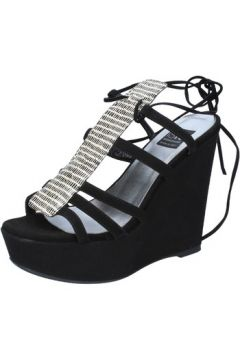 Sandales Islo sandales noir daim BZ328(115398903)