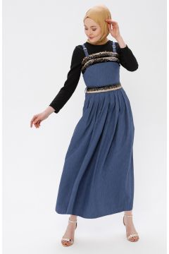 Robe Tuana Bleu Marine(102891167)