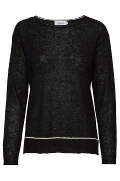 Ls Alpaca Blend Sweater Strickpullover Schwarz CALVIN KLEIN(117080480)