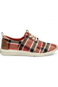 Chaussures Toms Plaid Women\'s Del Rey Sneaker(115626587)
