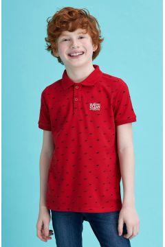 DeFacto Erkek Çocuk Pike Polo Yaka Kısa Kollu T-shirt(119060305)