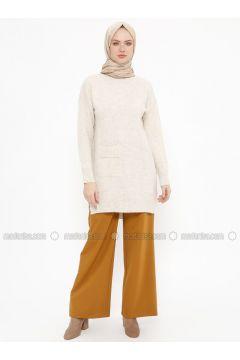 Mustard - Viscose - Pants - Tekbir(110335705)