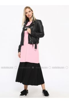 Black - Fully Lined - Skirt - Missemramiss(110330906)
