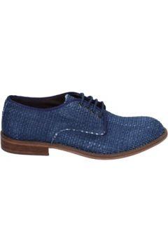 Chaussures Evc élégantes bleu cuir BT959(115442981)