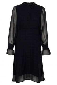 Celenkb Dress Kleid Knielang Schwarz KAREN BY SIMONSEN(120154908)