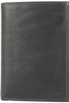 Sac Wylson Portefeuille en cuir effet brut Rio Noir(115545355)