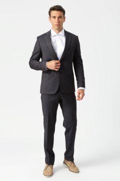 Kip Slim Fit Kahve Takım Elbise(113980842)