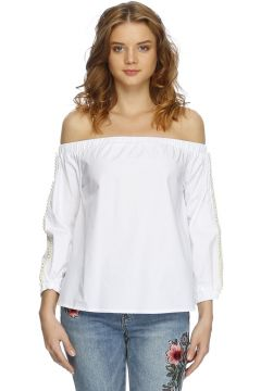Missguided Beyaz Bluz(113955506)