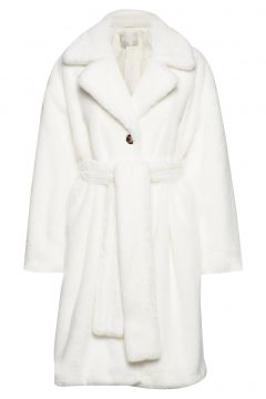 Stina Outerwear Faux Fur Weiß FALL WINTER SPRING SUMMER(114153349)