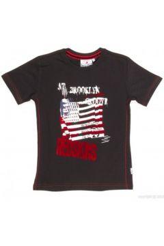 T-shirt enfant Redskins T-Shirt Garçon Barbla Noir(127850540)
