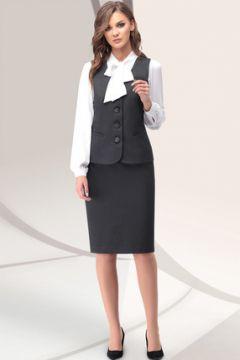 Комплект юбочный LeNata 32913 серый(118824712)