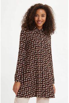 DeFacto Kadın Uzun Kollu Gömlek Tunik(119057282)