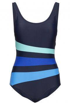 Swimsuit Bianca Classic Badeanzug Bademode Blau WIKI(112084854)