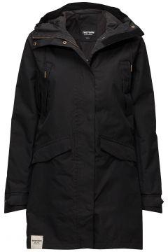 Womens Rain Jacket From The Se Parka Jacke Mantel Schwarz TRETORN(116365657)