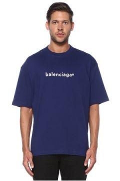Balenciaga Erkek TSHIRT Mavi XL EU(119943001)