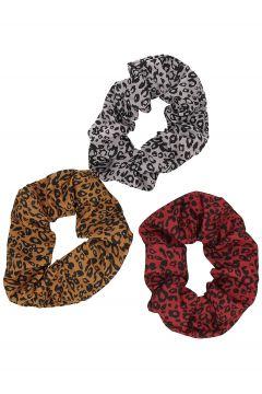 Stone and Locket 3Pk Scrunchie patroon(105296677)