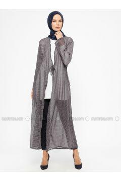 Navy Blue - Multi - Unlined - Prayer Clothes - ModaNaz(110315010)