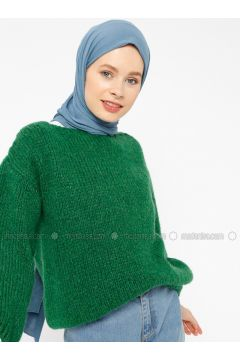 Green - Crew neck -- Jumper - Zentoni(110323435)