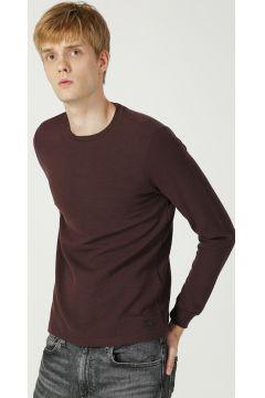 Loft LF 2021140 Burgundy T-Shirt(122536452)