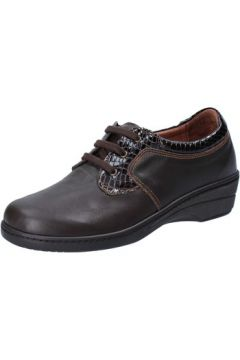Chaussures Susimoda sneakers marron cuir cuir verni AD864(115393783)