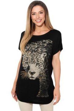 T-shirt Krisp Top Fronce Leopard(127994662)