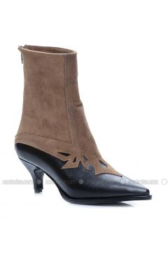 Brown - Boot - Boots - Mecrea(110323238)