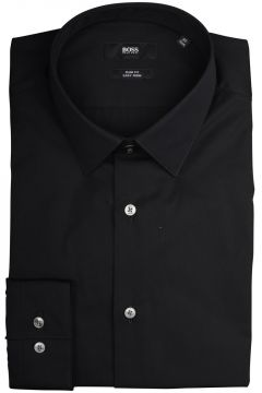 Hugo Boss Overhemd Isko Zwart Slim fit 50427541/001(110997823)