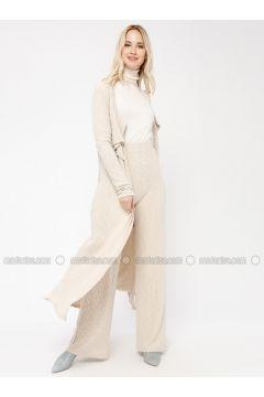 Beige -- Pants - Minimal Moda(110331219)