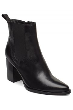 Biajudia Leather Boot Shoes Boots Ankle Boots Ankle Boots With Heel Schwarz BIANCO(114160589)