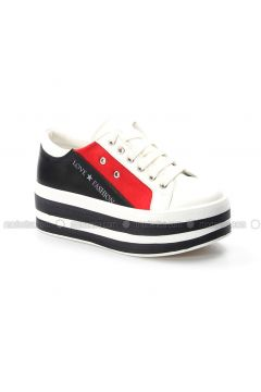 Red - White - Sport - Sports Shoes - Fast Step(110317751)