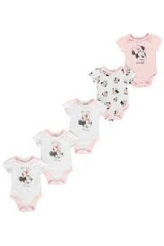 Character 5 Pack Vest Baby - Minnie Mouse(100543402)
