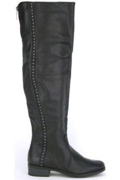 Bottes Cendriyon Bottes Noir Chaussures Femme(115424859)