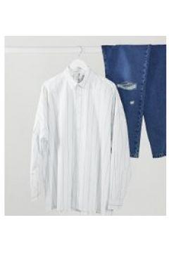 COLLUSION - Camicia a maniche lunghe a righe-Multicolore(120273743)
