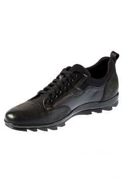 Fosco Bağcıklı Siyah Hakiki Deri Kauçuk Taban Sıcak Astar Kışlık Erkek Ayakkabı 9510 636 551(105198969)