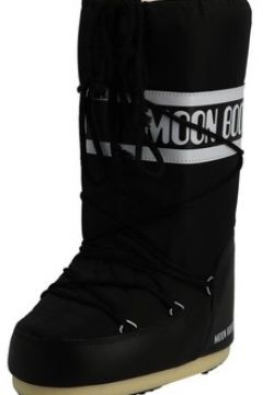 Bottes neige Tecnica Nylon noir moon boot(127855177)